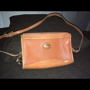 Dooney & Bourke leather cross body bag